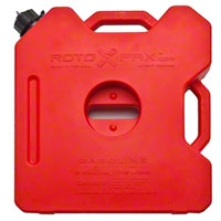 Rotopax 3 Gallon Red Interlocking Fuel Can (87-14 Wrangler YJ, TJ & JK) - Rotopax RX-3G