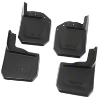 Rugged Ridge Splash Guard Kit - Front & Rear (07-15 Wrangler JK) - Rugged Ridge 11642.10