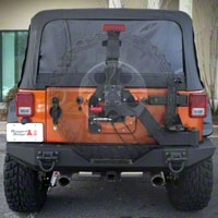 Rugged Ridge XHD Gen II Swing & Lock Tire Carrier (07-14 Wrangler JK) - Rugged Ridge 11546.25