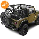 Barricade Wrap Around Net - One Piece (92-06 Wrangler YJ & TJ) - Barricade J101185