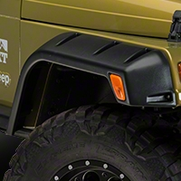 Lund Fender Flares RX- Rivet Style 4PC (97-06 Wrangler TJ) - Lund RX605T