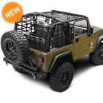 Barricade Complete Netting Kit (92-06 Wrangler YJ & TJ) - Barricade Kit