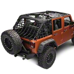 Barricade Complete Netting Kit (07-14 Wrangler JK 4-Door) - Barricade Kit