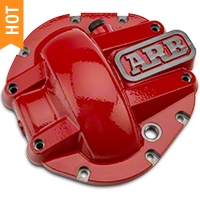 ARB Dana 44 - Differential Cover- Red (87-15 Wrangler YJ, TJ, & JK) - ARB 0750003