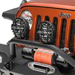 ARB Driving Light Kit 6.5 in. Round (87-15 Wrangler YJ, TJ, & JK) - ARB 968CSG