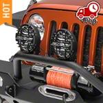 ARB Driving Light Kit 6.5 in. Round (87-16 Wrangler YJ, TJ, & JK) - ARB 968CSG