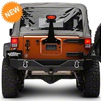 Barricade Adjustable Brake Light Bracket w/LED Light (87-15 Wrangler YJ, TJ, & JK) - Barricade J101535