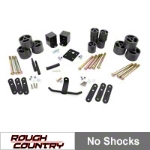 Rough Country 2 in. Body Lift Kit (87-95 Wrangler YJ) - Rough Country RC610||RC610