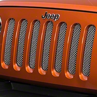 RedRock 4x4 Wire Mesh Grille - Stainless (07-16 Wrangler JK) - RedRock 4x4 43-0340