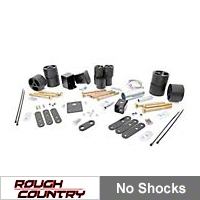 Rough Country 2 in. Body Lift Kit w/o Shocks (97-06 Wrangler TJ) - Rough Country RC605