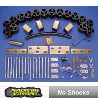 Performance Accessories 2 In. Body Lift Kit - Manual (87-95 Wrangler YJ) - Performance Accessories 932