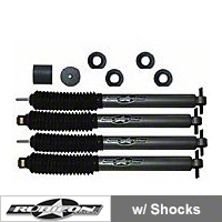 Rubicon Express 2 in. Budget Spacer Kit w/Mono Tube Shocks (97-06 Wrangler TJ) - Rubicon Express 7030RXJ