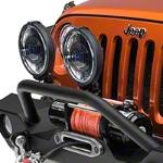 Hella Rallye 1000 Black Magic Driving Lamp Kit (87-15 Wrangler YJ, TJ, & JK) - Hella 4700771