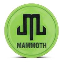 Mammoth Lime Green Center Cap (87-16 Wrangler YJ, TJ & JK) - Mammoth J101792