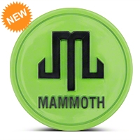 Mammoth Lime Green Center Cap (87-15 Wrangler YJ, TJ & JK) - Mammoth J101792