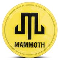 Mammoth Yellow Center Cap (87-16 Wrangler YJ, TJ & JK) - Mammoth J101793