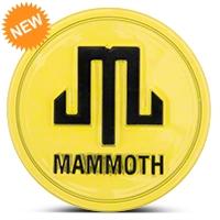 Mammoth Yellow Center Cap (87-15 Wrangler YJ, TJ & JK) - Mammoth J101793