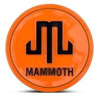 Mammoth Orange Center Cap (87-16 Wrangler YJ, TJ & JK) - Mammoth J101795