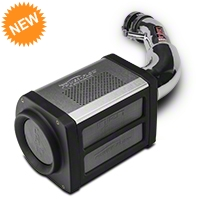 Injen Polished Power-Flow Cold Air Intake (07-11 JK) - Injen PF5002P