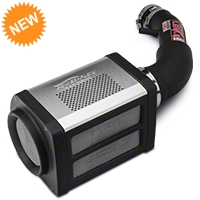 Injen Wrinkle Black Power-Flow Cold Air Intake (07-11 JK) - Injen PF5002WB