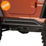 Westin Jeep Rocker Guard - Black (07-15 Wrangler JK 2 Door) - Westin 42-4025