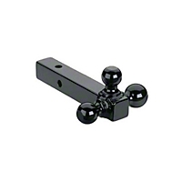 Curt Manufacturing 2 In. Receiver Triple Ball Mount (Universal Application) - Curt Manufacturing D-155