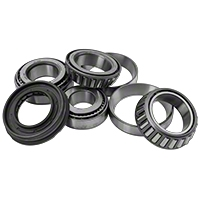 Dana Spicer Axle Bearing Rebuild Kit Dana 44 with Electric Lok (07 Wrangler JK Rubicon) - Dana Spicer 2017087
