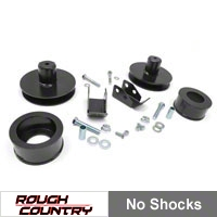 Rough Country 2 in. Suspension Lift Kit w/o Shocks (97-06 Wrangler TJ) - Rough Country 658