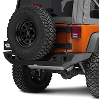 JCR Off Road Vanguard Rear Full Width Bumper Powder Coated (07-15 Wrangler JK) - JCR Off Road JKRV-PC