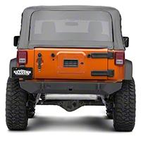 JCR Off Road Dagger Rear Bumper Powder Coated (07-16 Wrangler JK) - JCR Off Road JKRD-PC