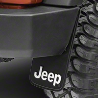 Jeep Logo Easy Fit Mud Guard 9x15 (87-16 Wrangler YJ, TJ & JK) - XT Exterior 000575R01