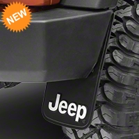 Jeep Logo Easy Fit Mud Guard 9x15 (87-15 Wrangler YJ, TJ & JK) - XT Exterior 000575R01
