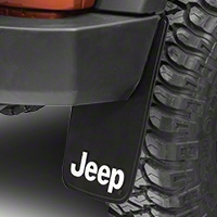 Jeep Logo Easy Fit Mud Guard 11x19 (87-15 Wrangler YJ, TJ & JK) - XT Exterior 000605R01