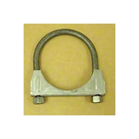Omix-ADA 2.5 Inch Exhaust Clamp,  Stainless Steel (Universal Application) - Omix-ADA 17620.12