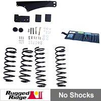 Rugged Ridge 2.5-3.5in. Lift Kit, No Shocks (07-13 Wrangler JK) - Rugged Ridge 18401.5