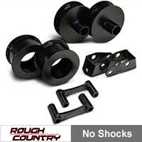 Rough Country 2.5in. Lift Kit, No Shocks (07-13 Wrangler JK) - Rough Country 656