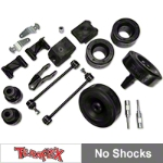Teraflex 2.5 in. Performance Budget Boost Kit w/o Shocks w/Adapters (07-15 Wrangler JK) - Teraflex 1355210