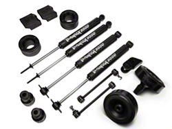 Teraflex 2.5 in. Performance Budget Boost Kit w/ Shocks (07-16 Wrangler JK)