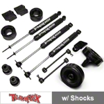 Teraflex 2.5 in. Performance Budget Boost w/ Shocks (07-14 Wrangler JK) - Teraflex 1255200