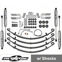 Rubicon Express 2.5 in. Standard Suspension System w/ Twin Tube Shocks (87-95 Wrangler YJ) - Rubicon Express 5505