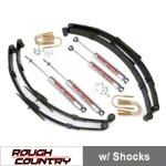 Rough Country 2.5 in. Suspension Lift Kit (87-95 Wrangler YJ) - Rough Country 615H