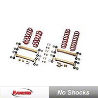 Rancho 2.5 in. Lift Kit (97-06 Wrangler TJ) - Rancho RS6503