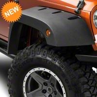 Barricade Rivet Style Fender Flare Kit (07-15 Wrangler JK) - Barricade J102427