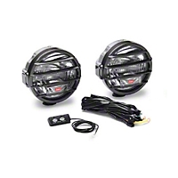 Warn 200,000 Candlepower Dual Beam Driving Light (Universal Application) - Warn 37609