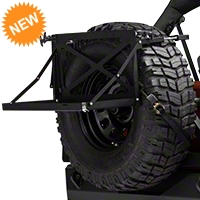 Barricade Excursion Rack for Spare Tire (87-15 Wrangler YJ, TJ, & JK) - Barricade JP56-001