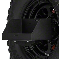 MORryde Spare Tire Jerry Can Holder w/ Tall Tray (87-16 Wrangler YJ, TJ & JK) - MORryde JP54-005