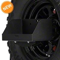Barricade Spare Tire Jerry Can Holder w/ Tall Tray (87-15 Wrangler YJ, TJ & JK) - Barricade JP54-005