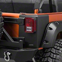 Bushwacker Rear Trail Armor Corners (07-16 Wrangler JK 4 Door) - Bushwacker 14010