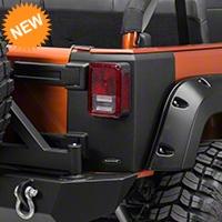 Bushwacker Rear Trail Armor Corners (07-15 Wrangler JK 4 Door) - Bushwacker 14010
