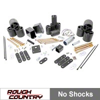 Rough Country 3 in. Body Lift Kit (97-06 Wrangler TJ) - Rough Country RC606